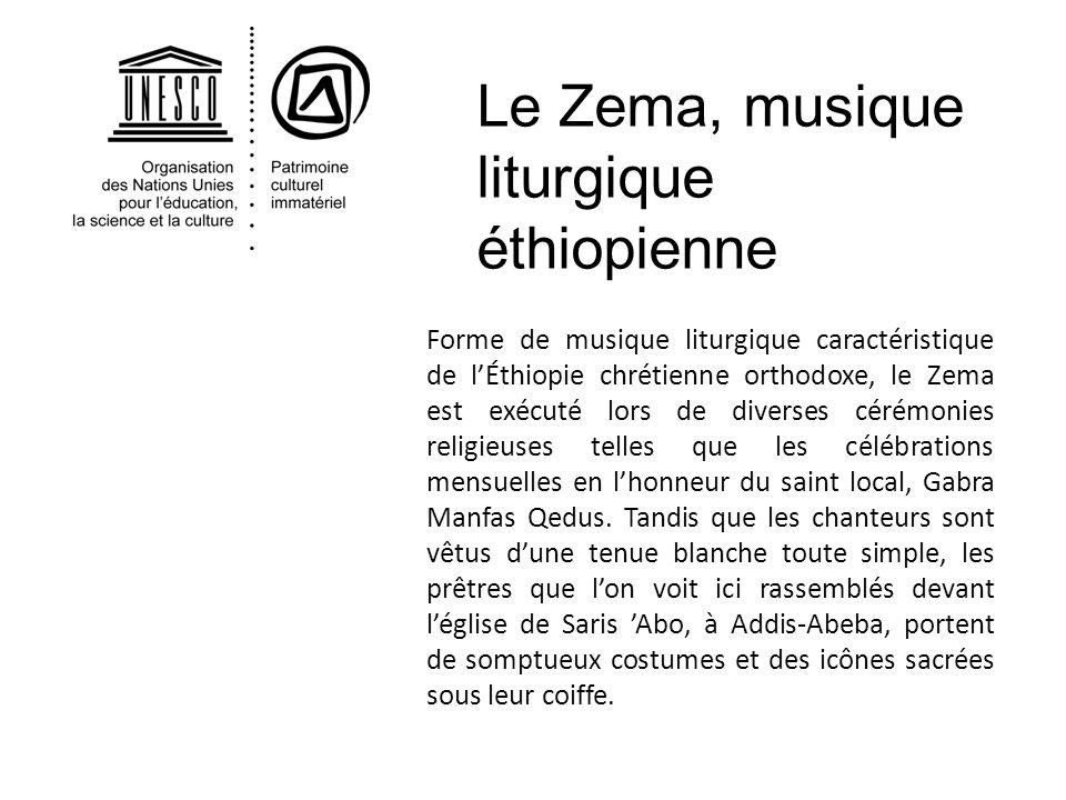 Le Zema, musique liturgique éthiopienne