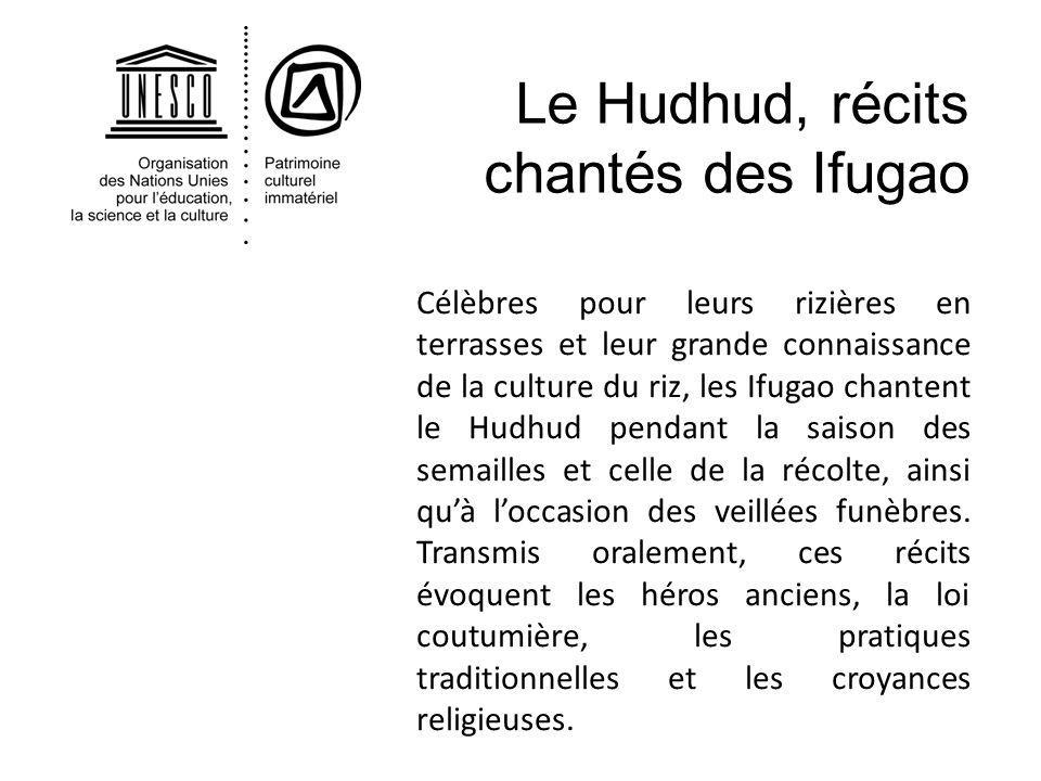 Le Hudhud, récits chantés des Ifugao