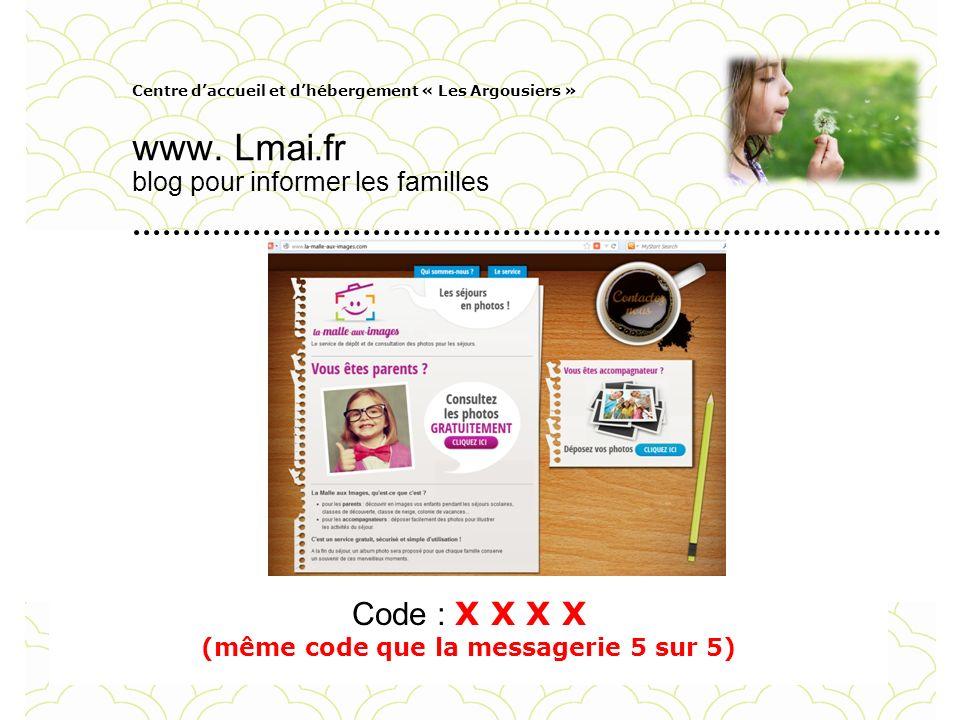 www. Lmai.fr blog pour informer les familles