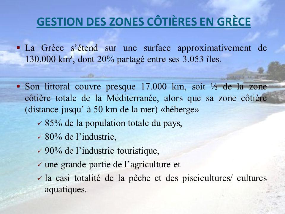 GESTION DES ZONES CÔTIÈRES EN GRÈCE