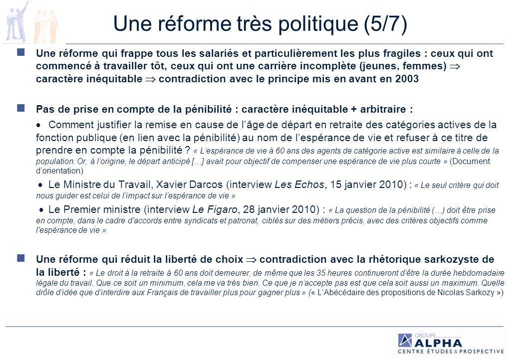 Une réforme très politique (5/7)