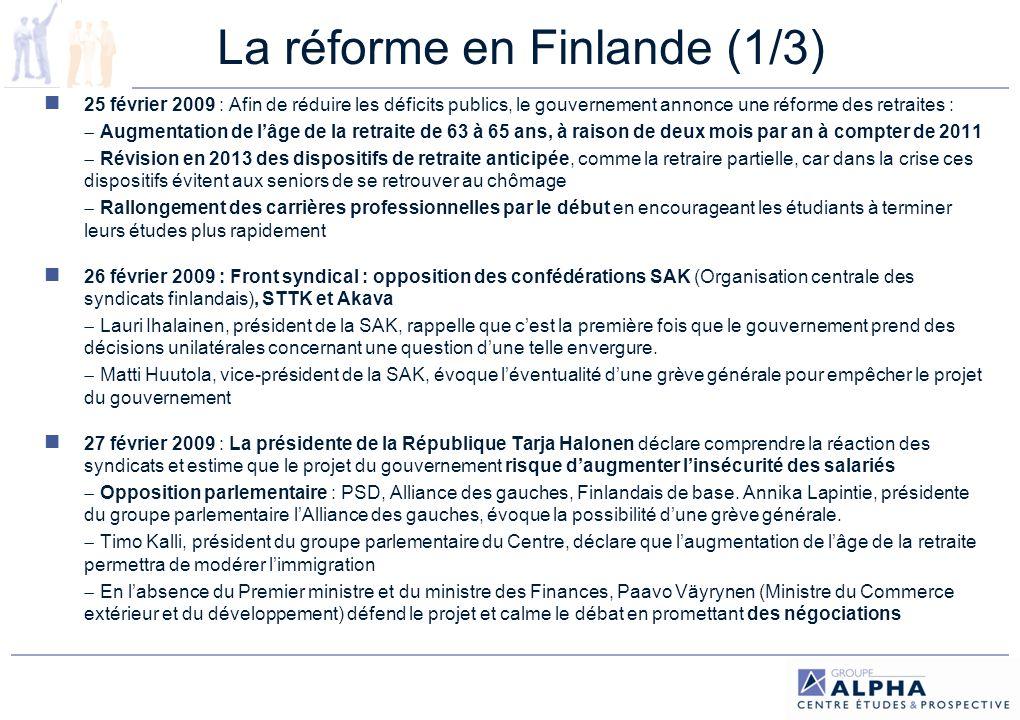 La réforme en Finlande (1/3)