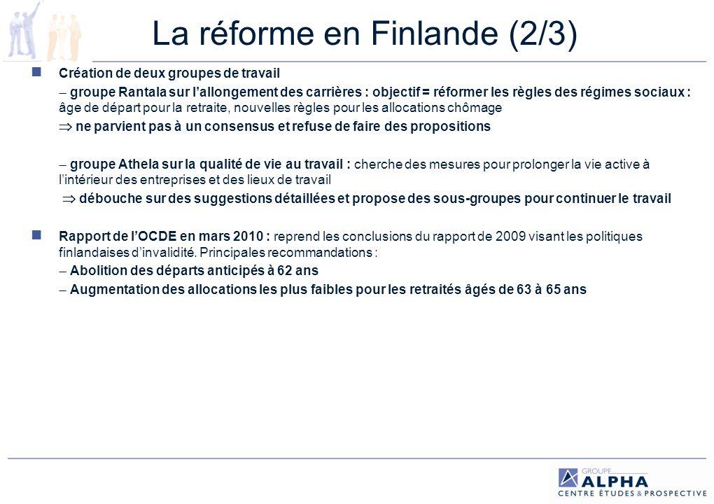 La réforme en Finlande (2/3)