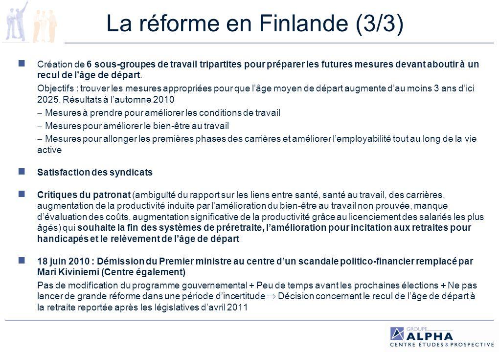 La réforme en Finlande (3/3)