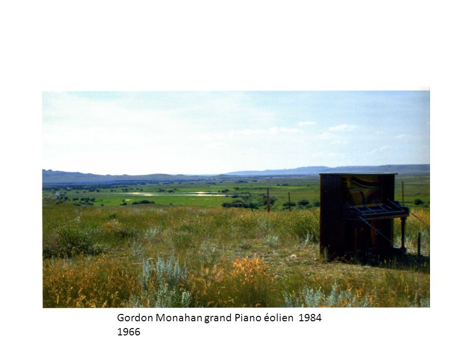 Gordon Monahan grand Piano éolien 1984 1966