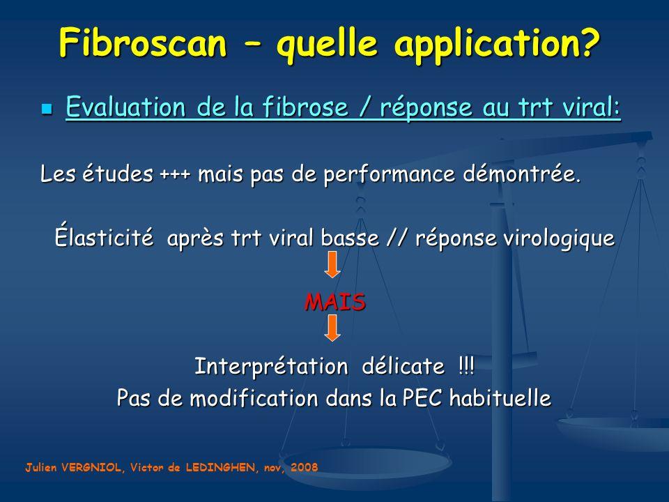 Fibroscan – quelle application
