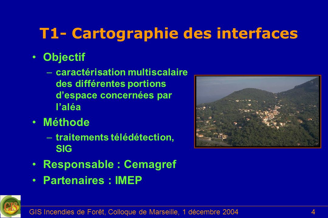 T1- Cartographie des interfaces