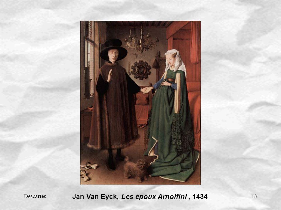 Jan Van Eyck, Les époux Arnolfini , 1434