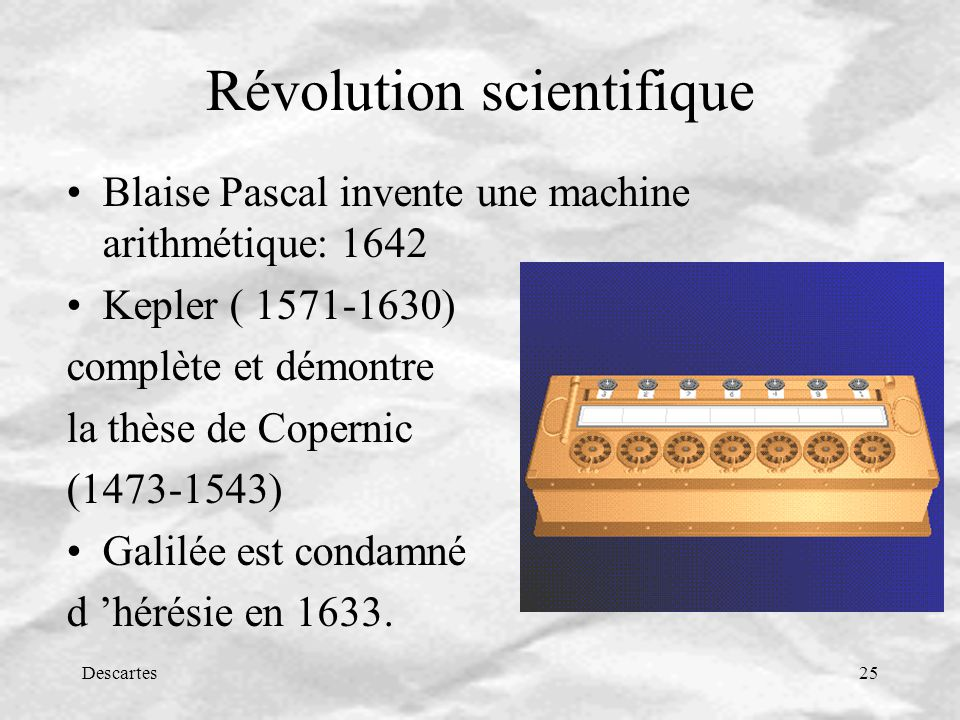 Révolution scientifique
