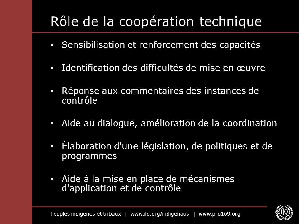 Rôle de la coopération technique