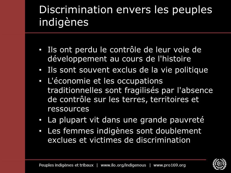 Discrimination envers les peuples indigènes