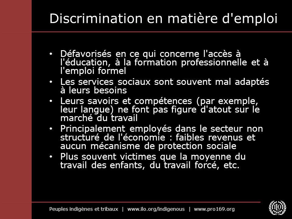 Discrimination en matière d emploi
