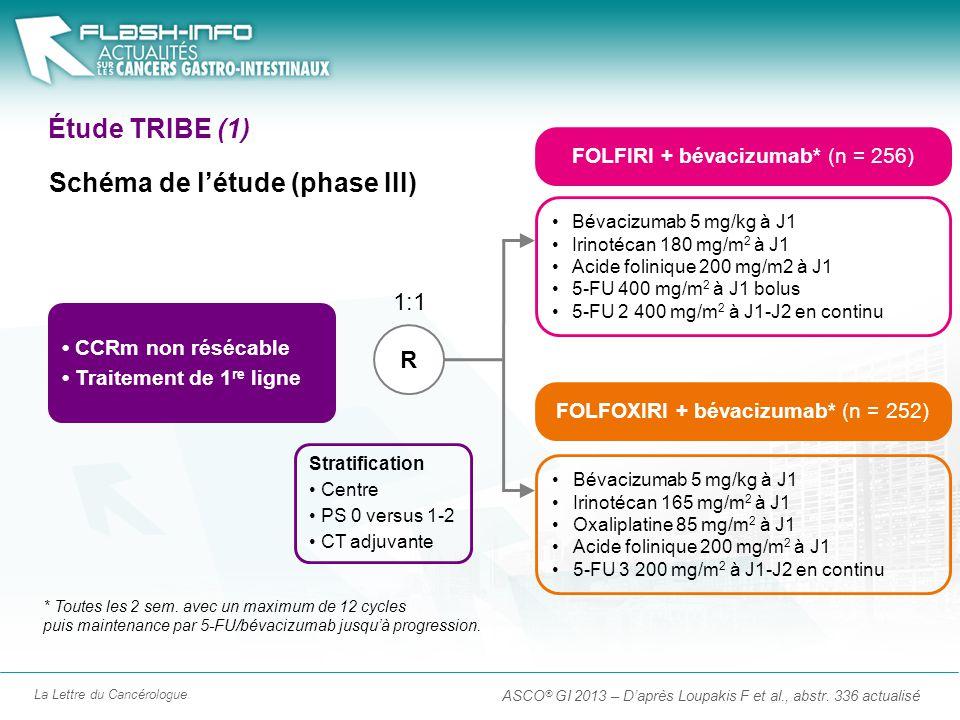 Schéma de l'étude (phase III)