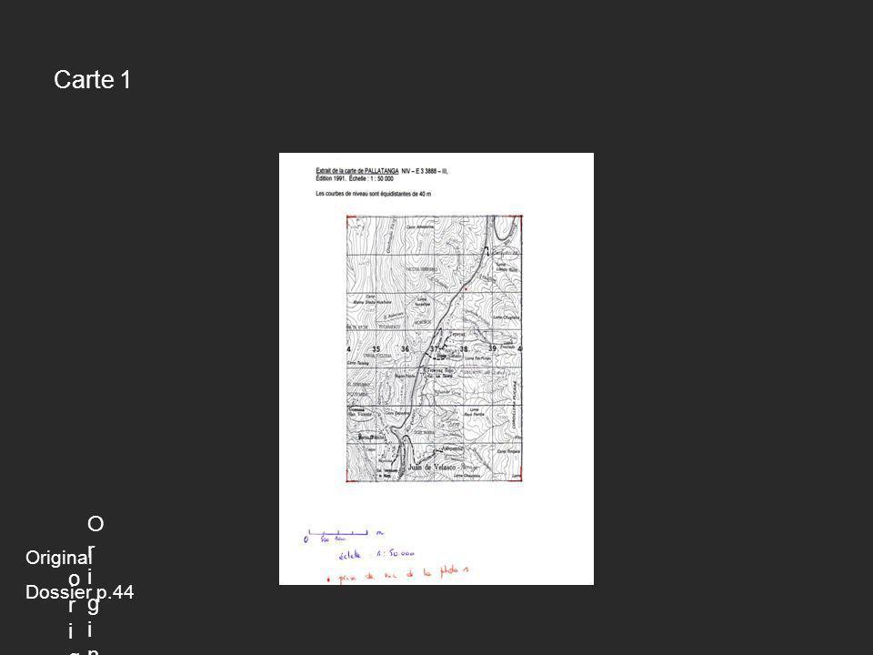 Carte 1 Origin Original Dossier p.44 original