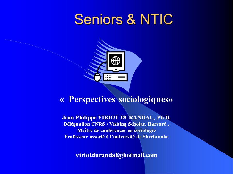 Seniors & NTIC « Perspectives sociologiques»