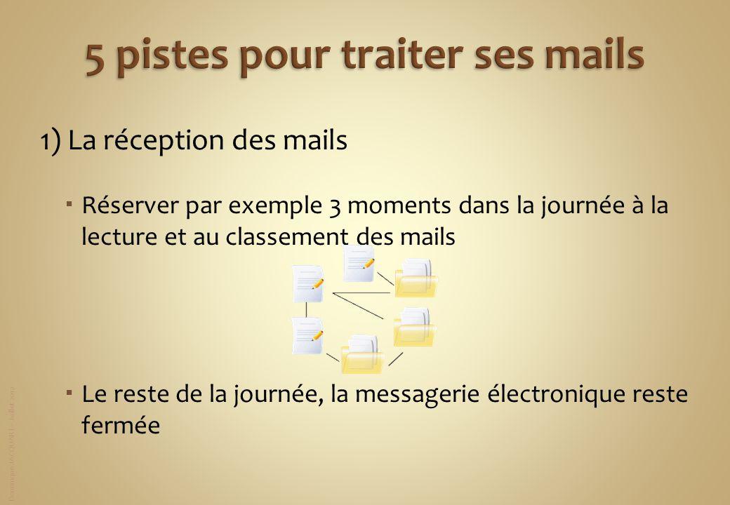 5 pistes pour traiter ses mails
