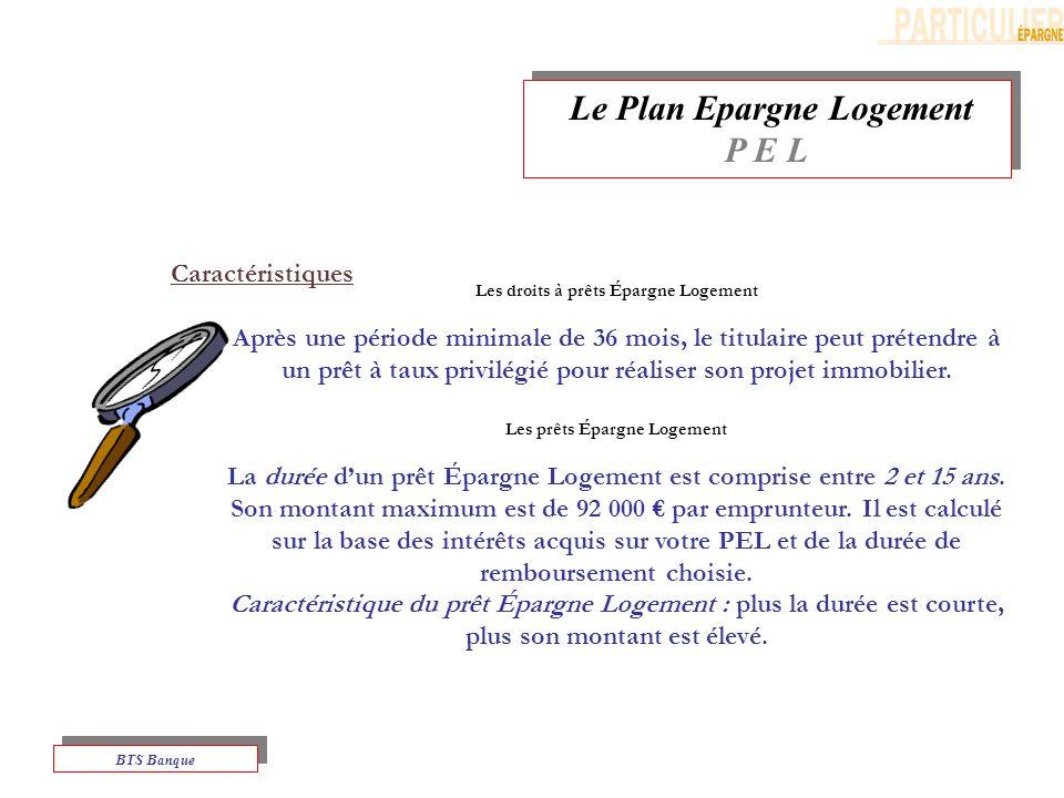 Le Plan Epargne Logement