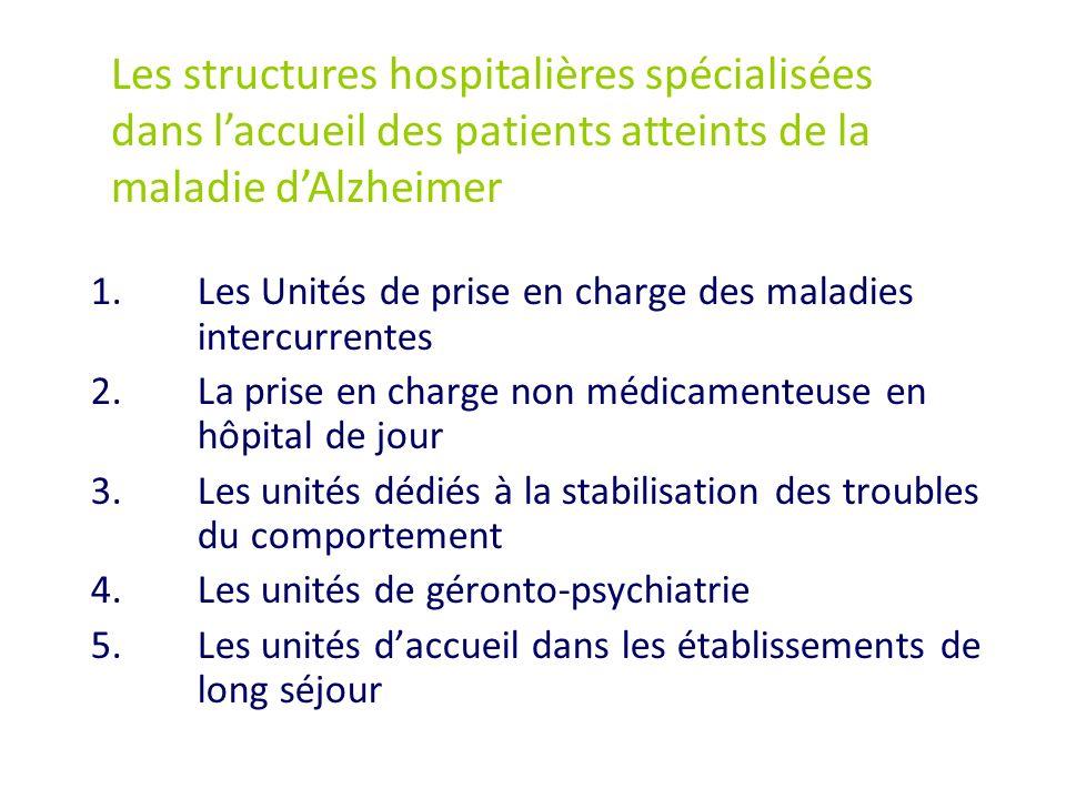 Les structures hospitalières spécialisées