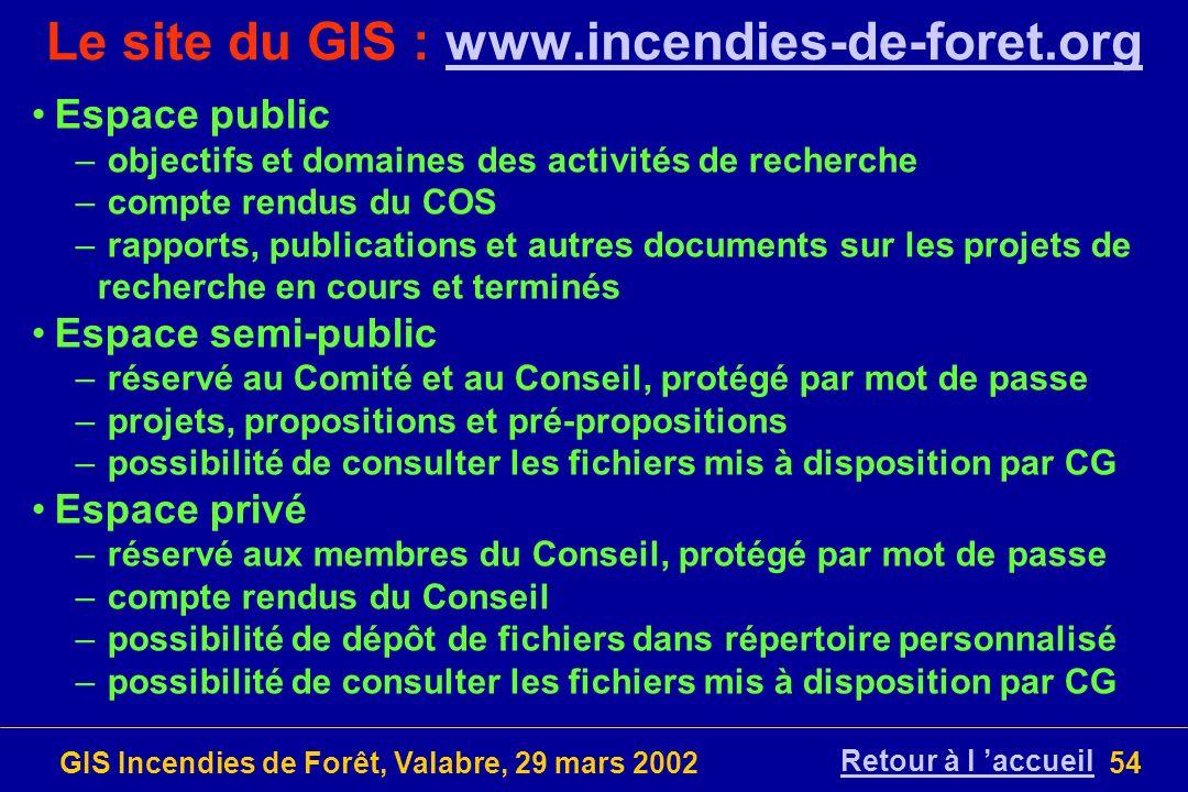 Le site du GIS : www.incendies-de-foret.org