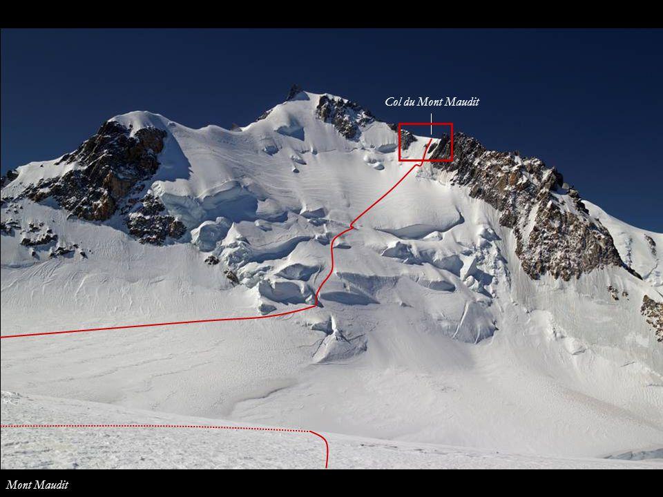 Col du Mont Maudit Mont Maudit