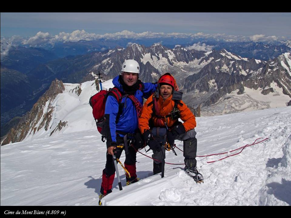 Cime du Mont Blanc (4.809 m)