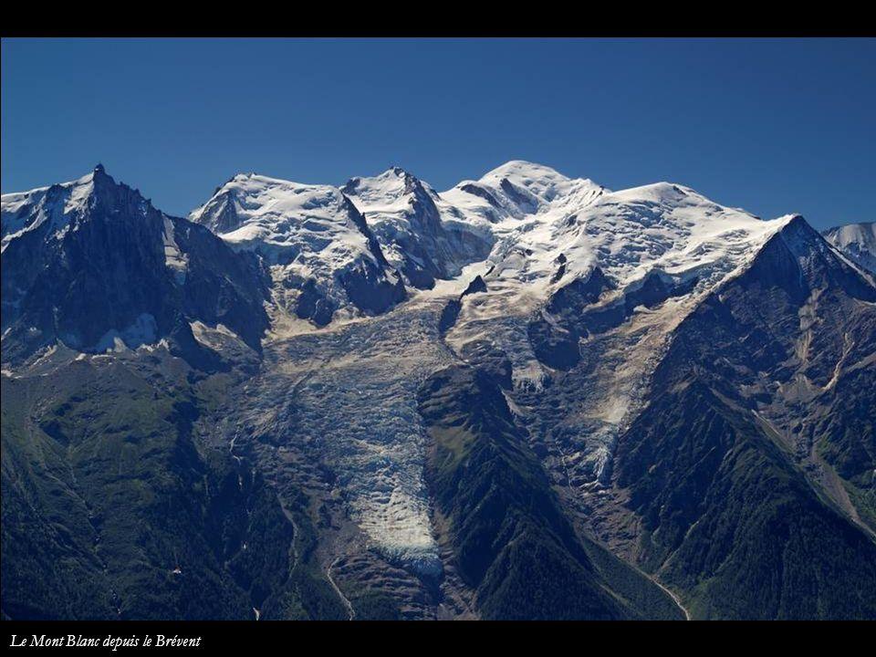Le Mont Blanc depuis le Brévent
