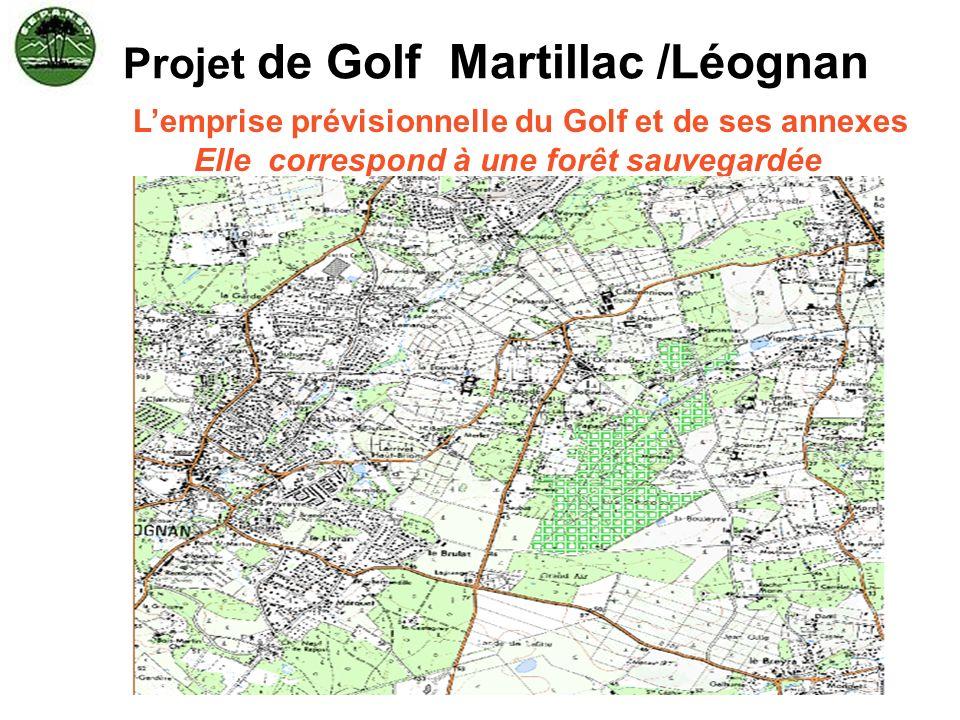 Projet de Golf Martillac /Léognan