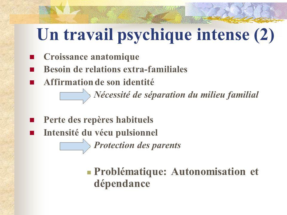 Un travail psychique intense (2)