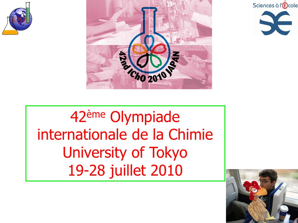 42ème Olympiade internationale de la Chimie