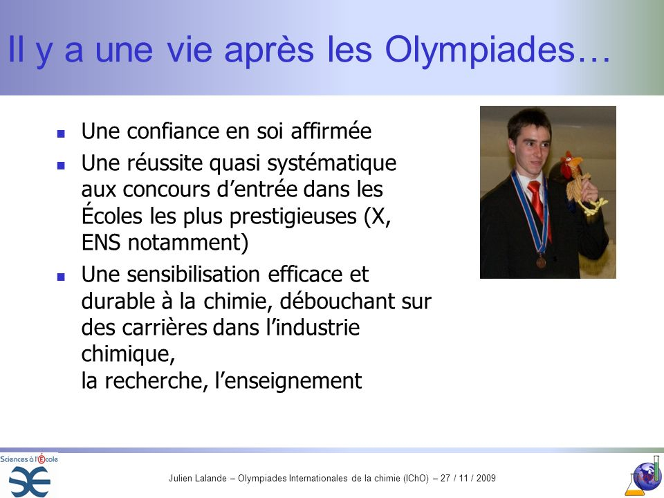 Il y a une vie après les Olympiades…