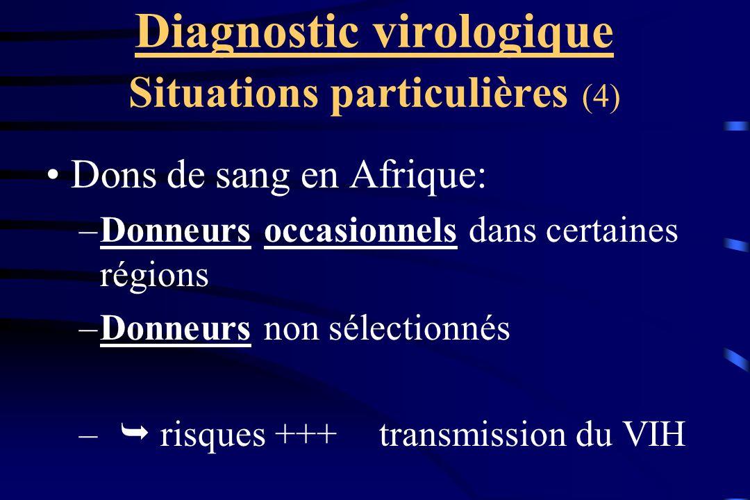Diagnostic virologique Situations particulières (4)