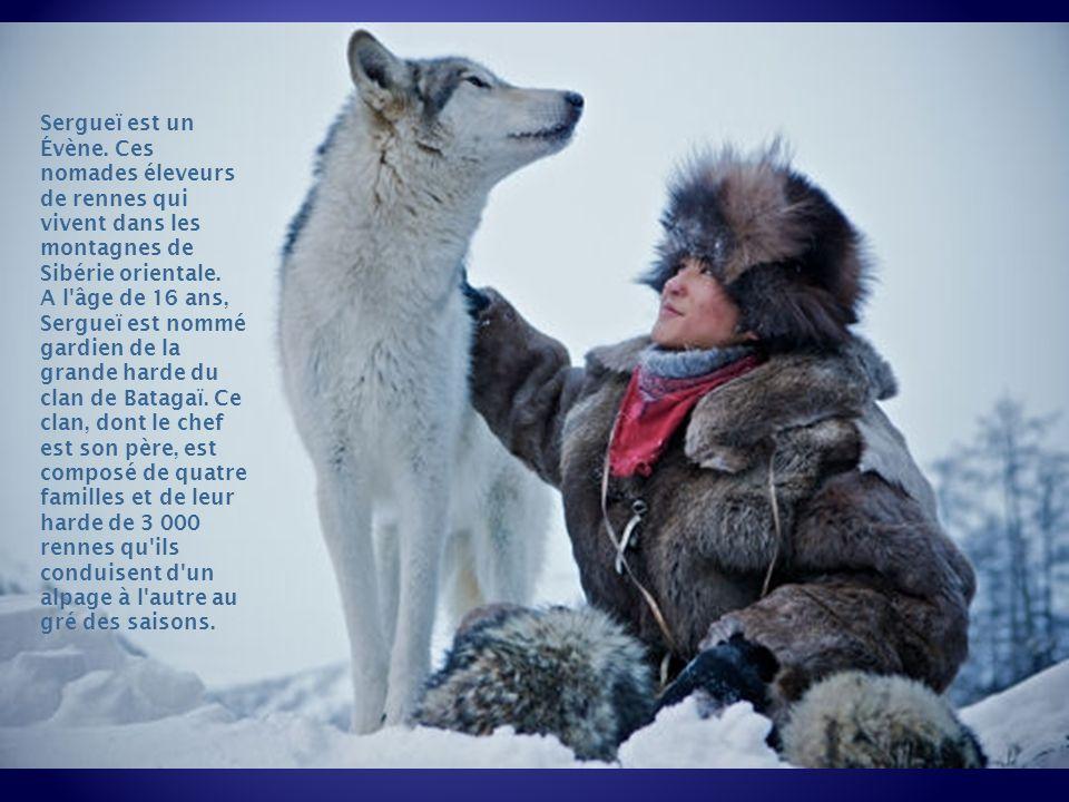 Sergueï est un Évène. Ces nomades éleveurs de rennes qui vivent dans les montagnes de Sibérie orientale.