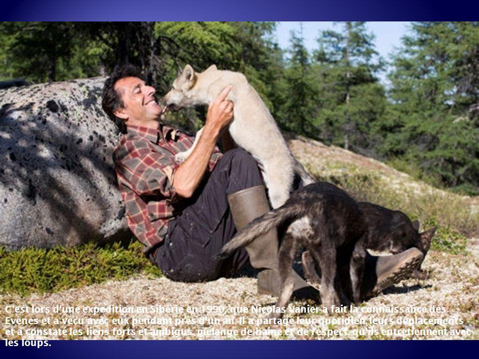 C est lors d une expédition en Sibérie en 1990, que Nicolas Vanier a fait la connaissance des Evènes et a vécu avec eux pendant près d un an.