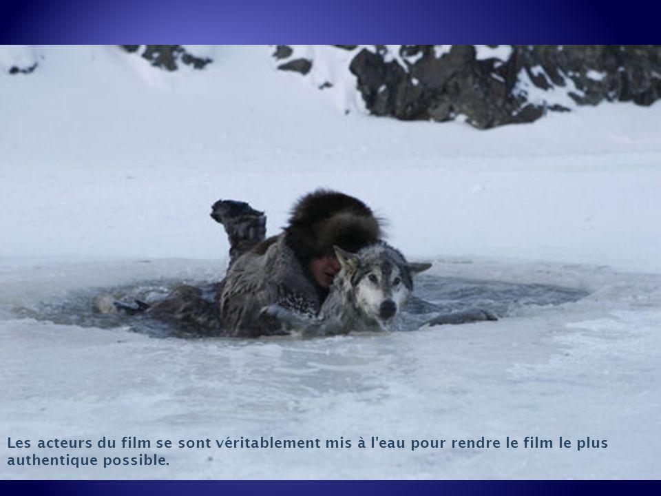 Les acteurs du film se sont véritablement mis à l eau pour rendre le film le plus authentique possible.