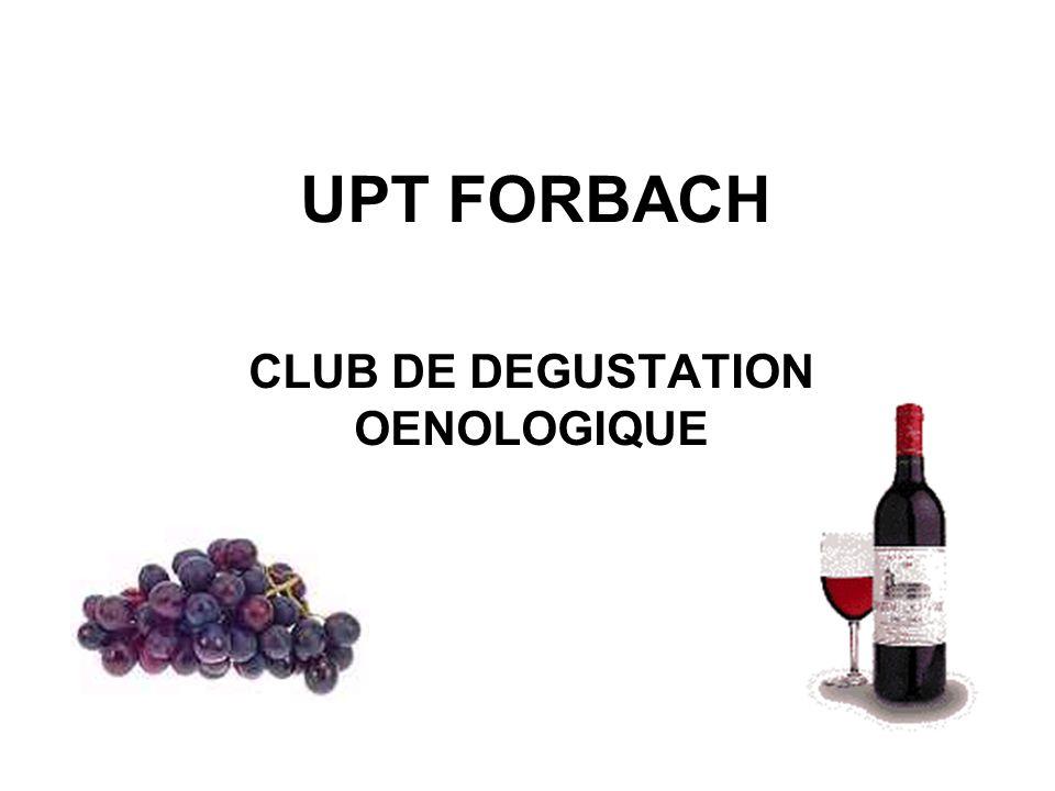 CLUB DE DEGUSTATION OENOLOGIQUE