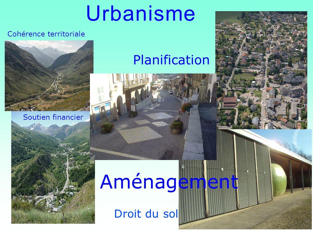 Urbanisme Aménagement Planification Droit du sol