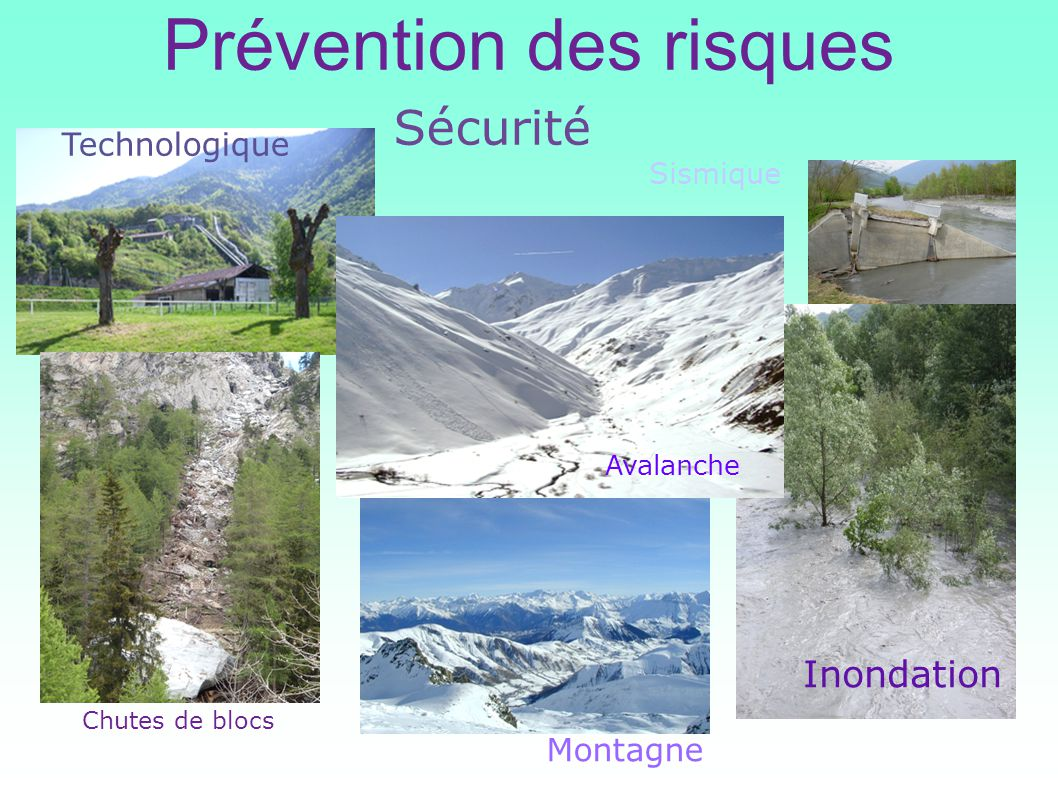 Prévention des risques