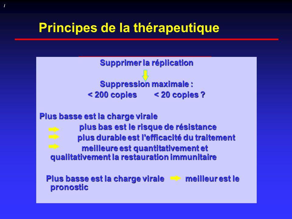 Principes de la thérapeutique