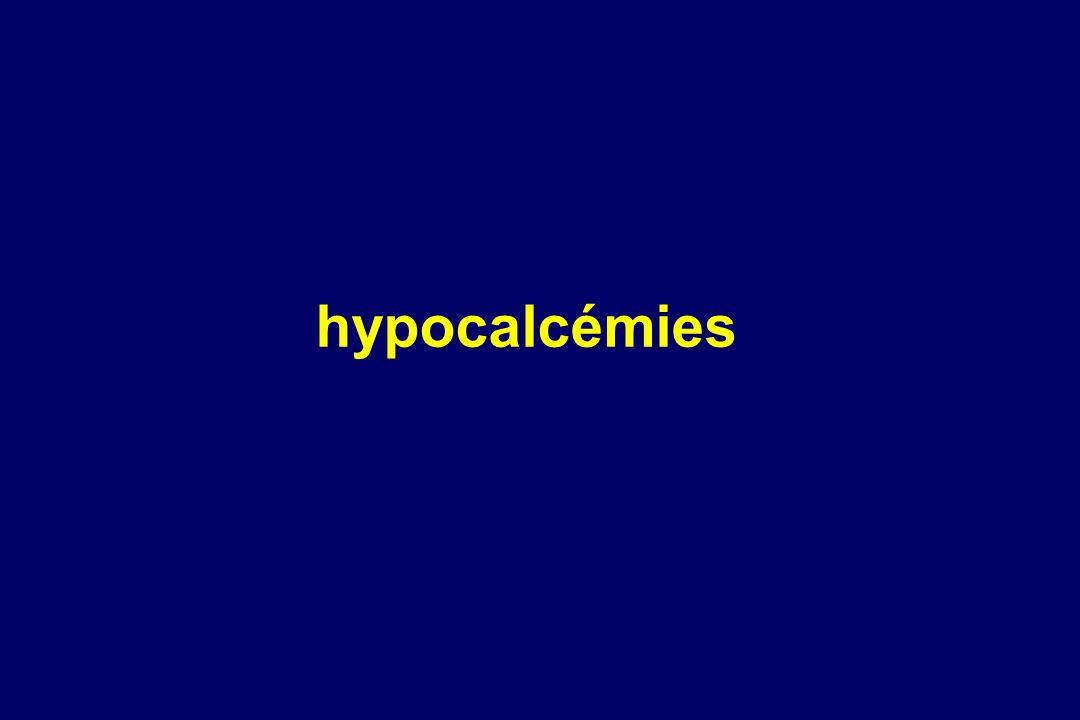 hypocalcémies 2 Accueil Nouveautés Email webmaster Sommaire FMC