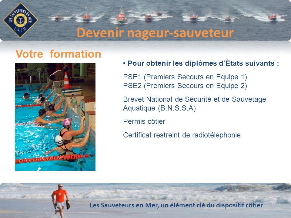 Devenir nageur-sauveteur