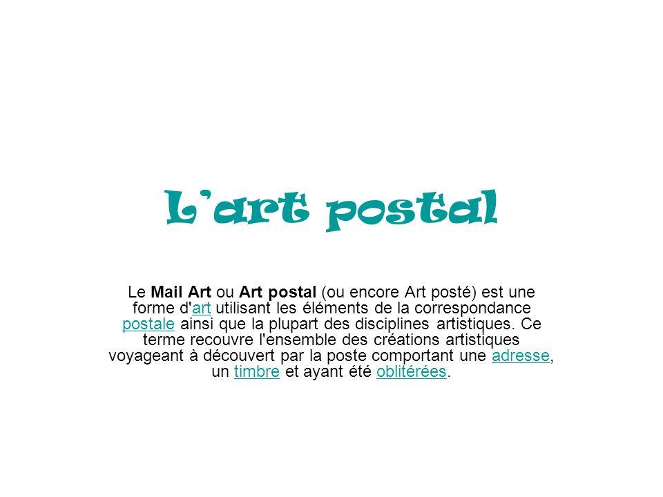 L'art postal