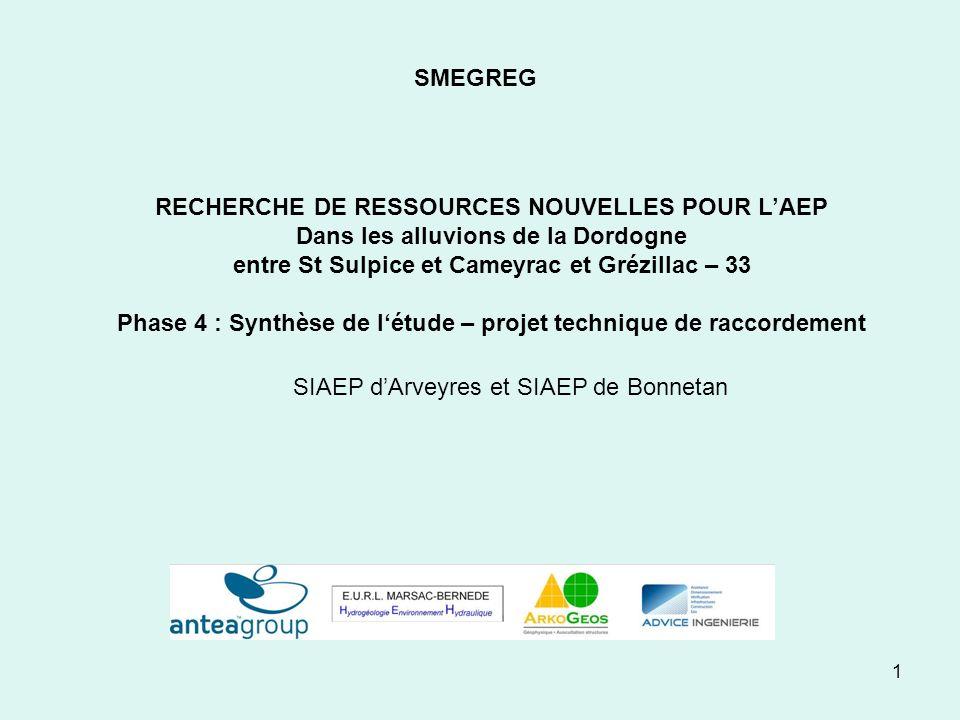 Phase 4 : Synthèse de l'étude – projet technique de raccordement