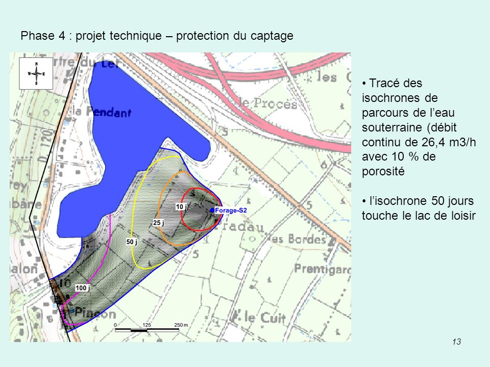 Phase 4 : projet technique – protection du captage