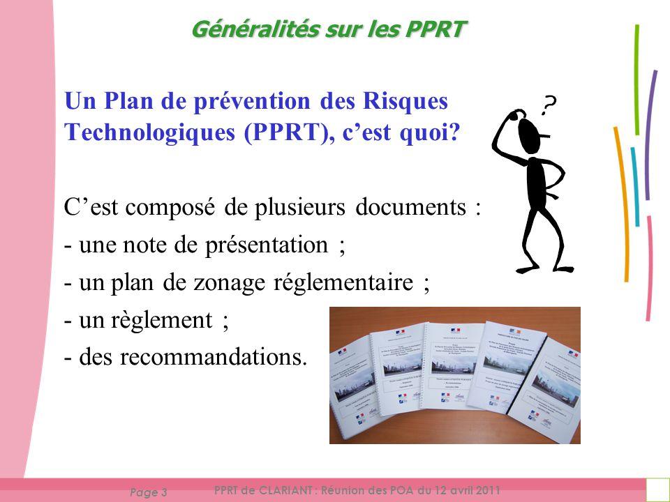 Un Plan de prévention des Risques Technologiques (PPRT), c'est quoi