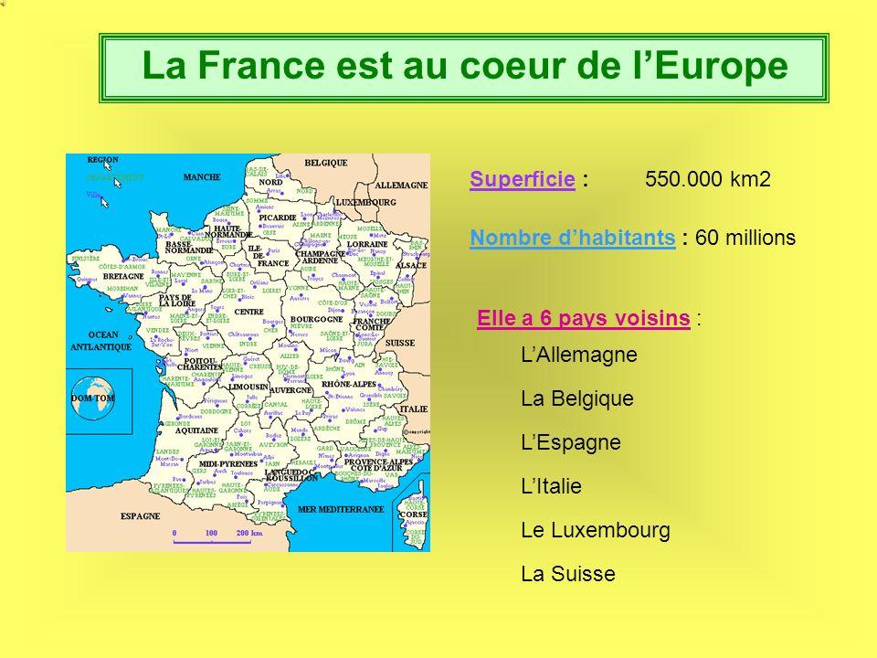 La France est au coeur de l'Europe