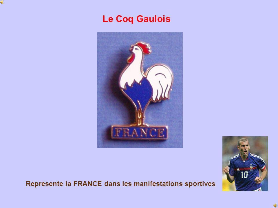 Represente la FRANCE dans les manifestations sportives