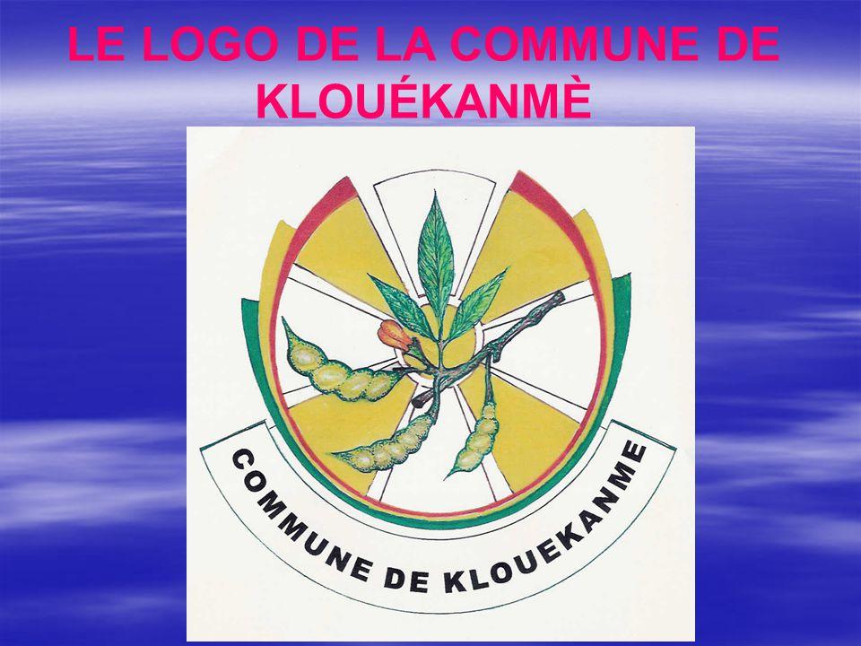 LE LOGO DE LA COMMUNE DE KLOUÉKANMÈ