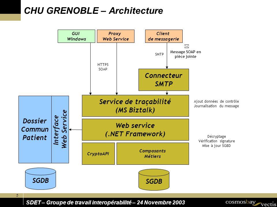 CHU GRENOBLE – Architecture