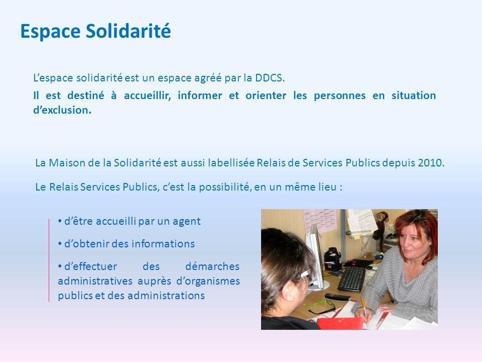Espace Solidarité