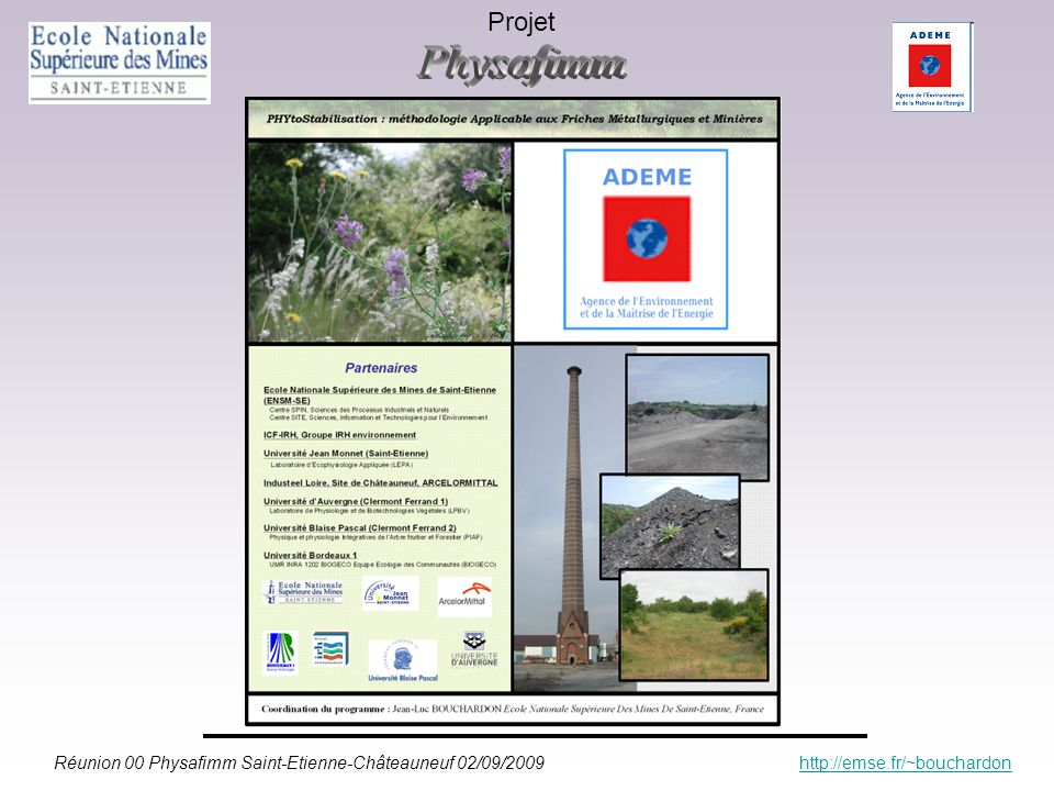 Projet Physafimm